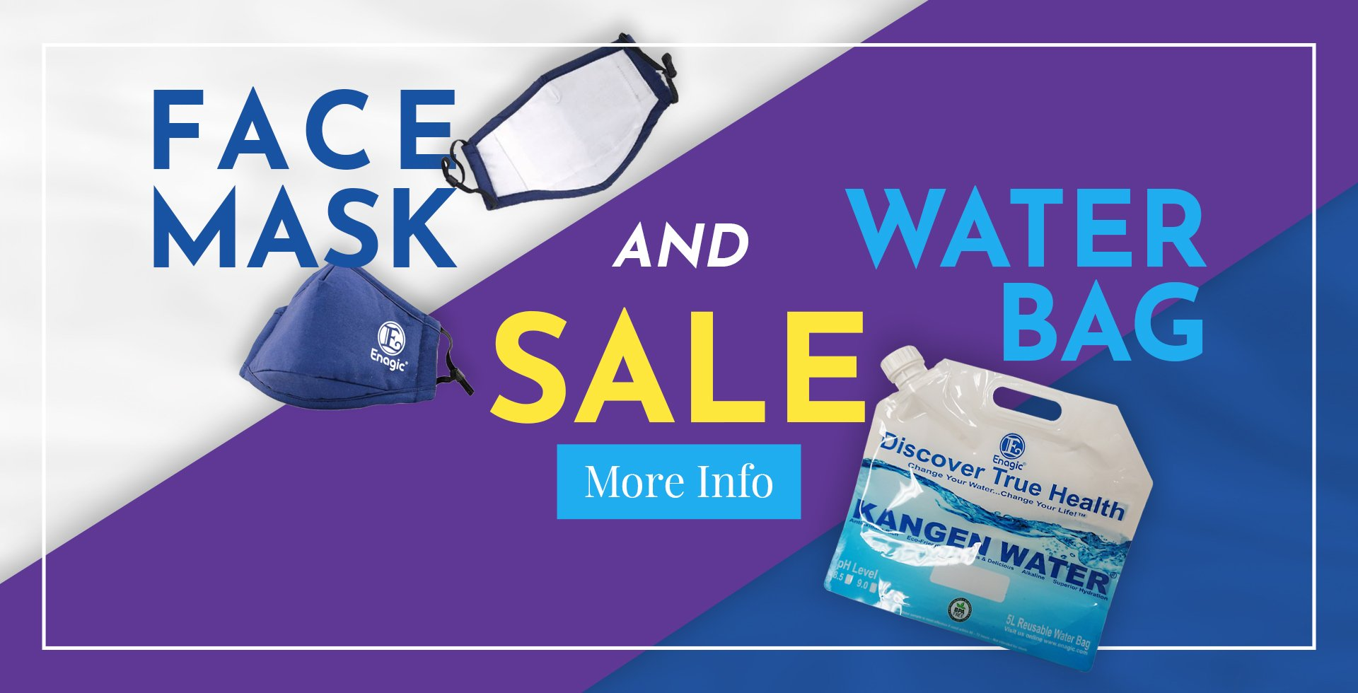 Summer Mask and Water Bag Sale
