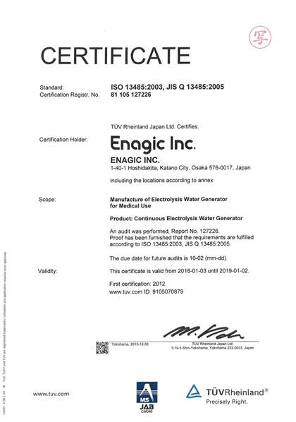 Enagic Usa Inc Kangen Water 174 Is A Trademark Of Enagic Usa