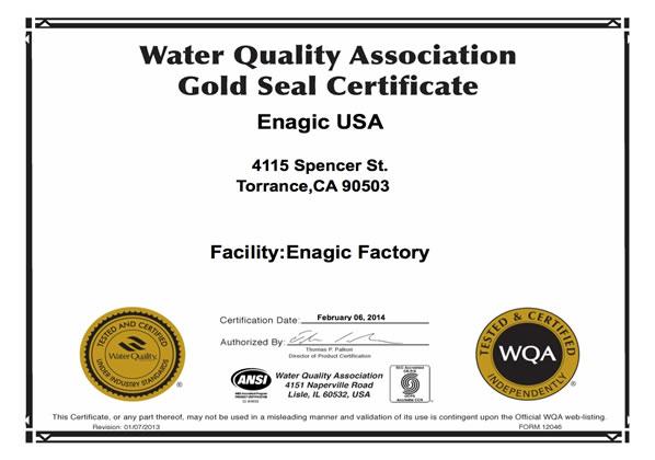 Enagic Award Amp Certification Kangen Water