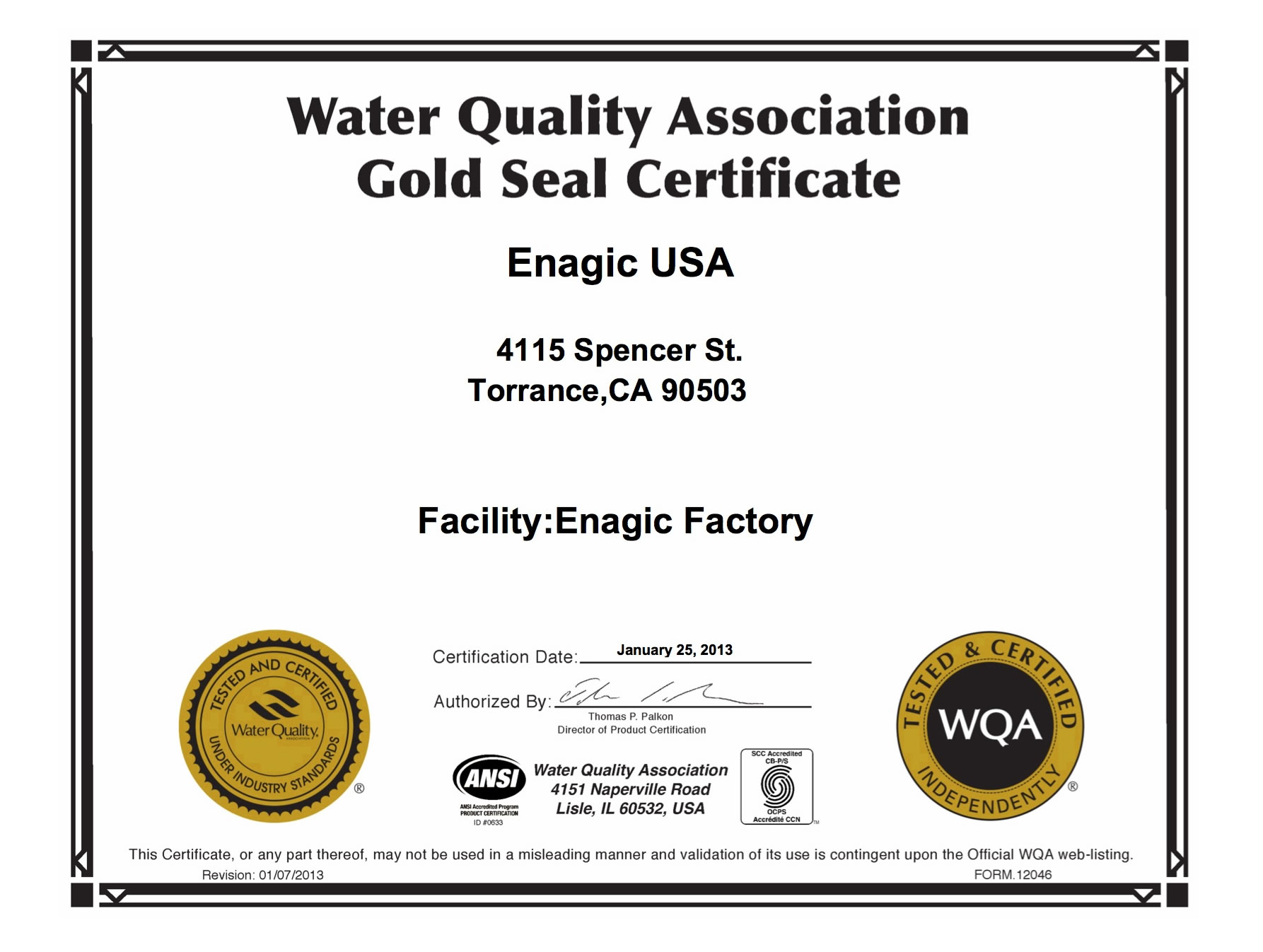 Third party safety certification alkaline water enagic thailand view 1betcityfo Choice Image