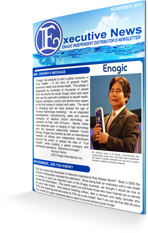 Enagic Newsletter