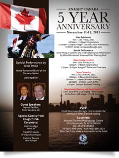 Enagic Canada 5 Year Anniversary