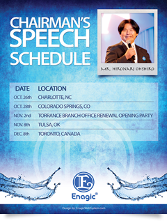 Chairman's Seminar Schedule
