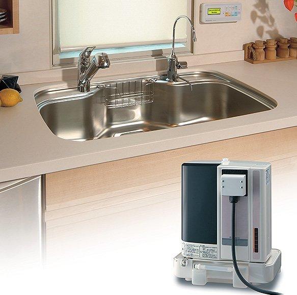 installing kangen water machine under sink